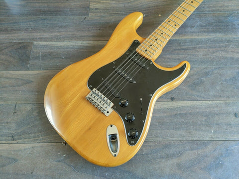 1981 Aria Pro II Strikin' Sound Stratocaster (Natural)