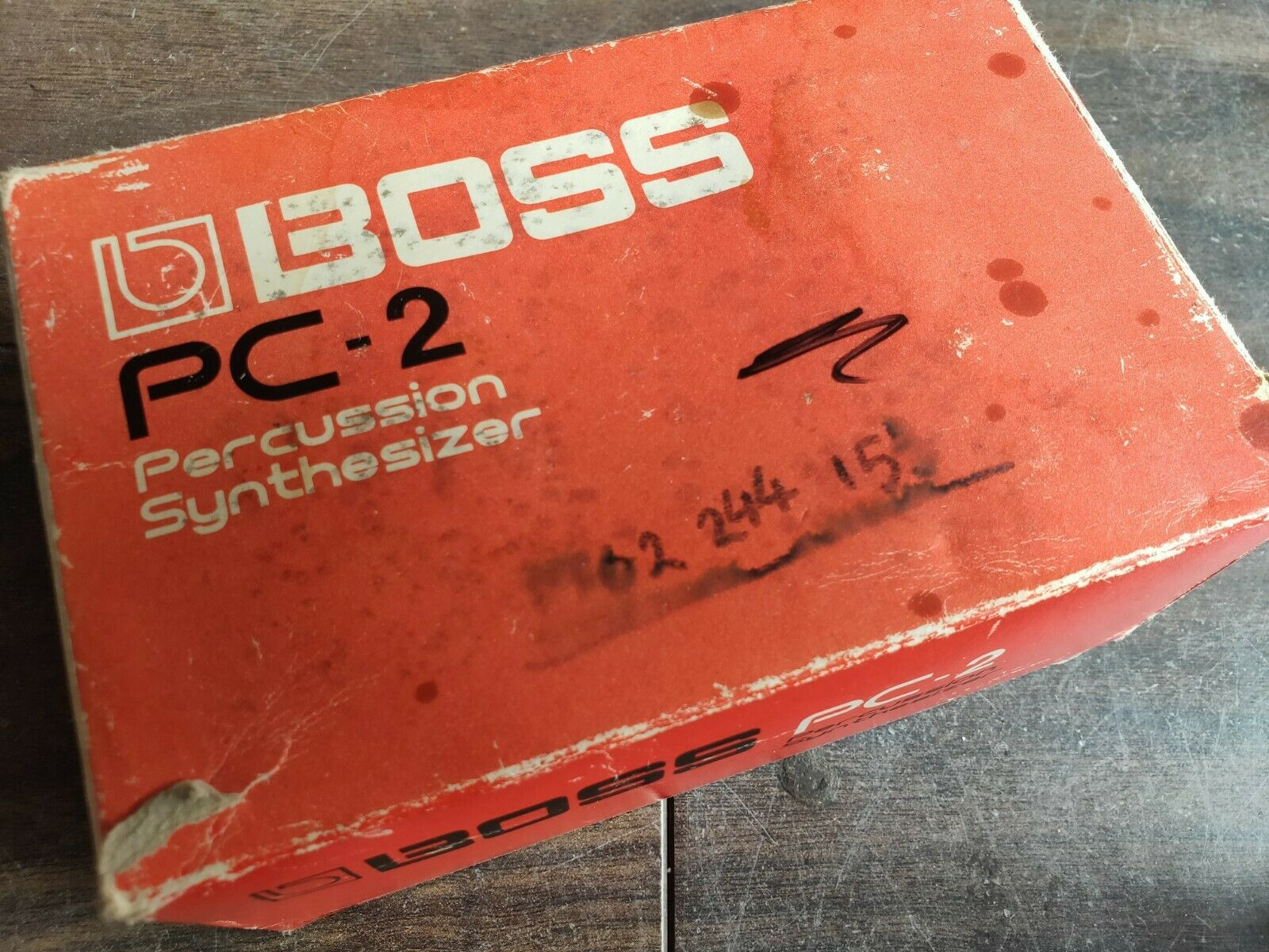 1984 Boss PC-2 Percussion Synthesizer Vintage Drum Machine w/Box