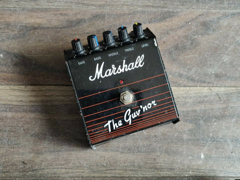 1980's Marshall Guv'nor Distortion Vintage Effects Pedal