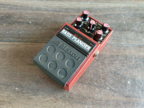 1980's Maxon BF-01 Bass Flanger Japan Vintage Effects Pedal