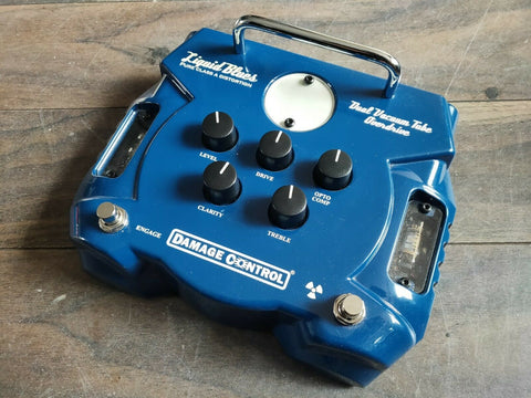Damage Control (Strymon) Liquid Blues Class A Distortion/Overdrive Pedal