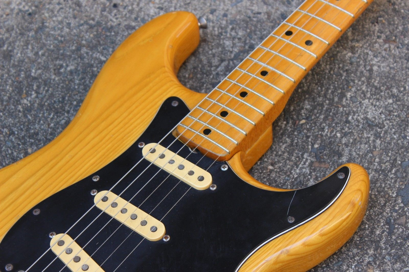 1979 Greco SE-500 Spacy Sound Stratocaster (Natural) MIJ Japan