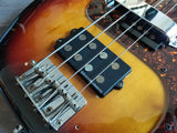 1986 Fender Japan PB62 MIJ '62 Reissue Precision Bass w/Hipshot (Sunburst)