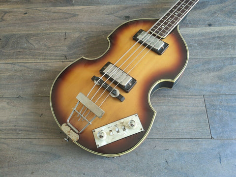 1975 Greco Japan VB-450 Hofner/Beatle Violin Bass