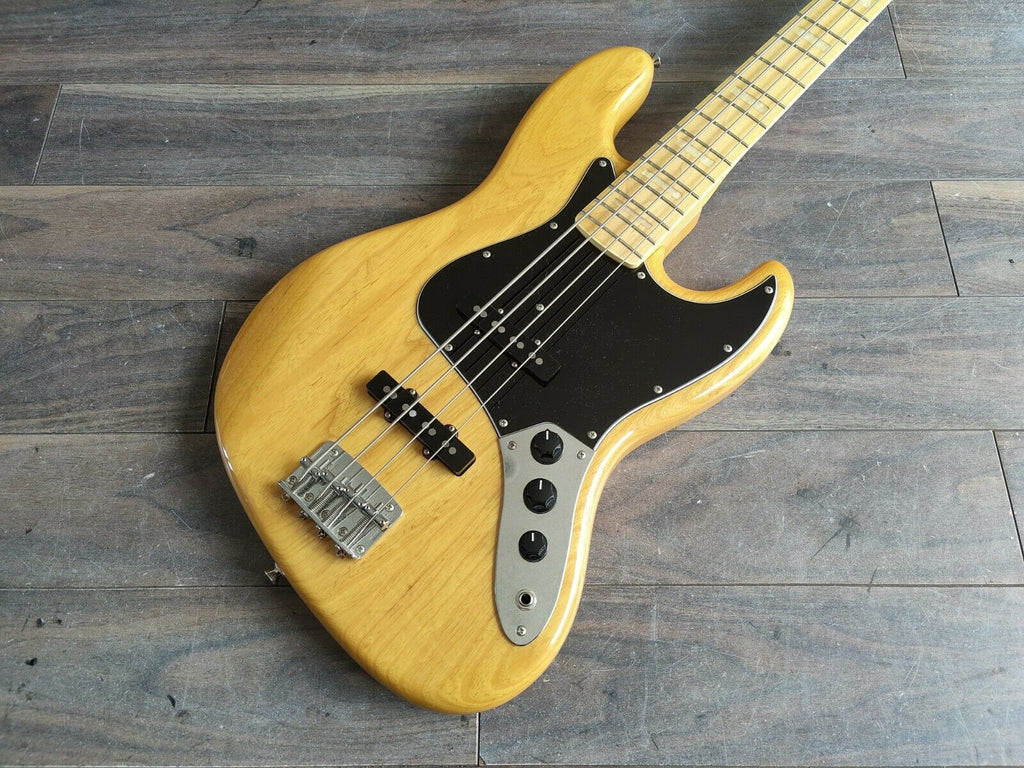 2013 FGN Japan (Fujigen) Neo Classic 70's Jazz Bass (Natural)