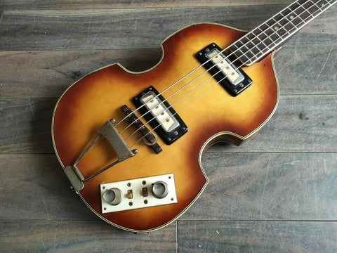Early 1960's Greco VB Violin Beatle Bass (Made in Japan)