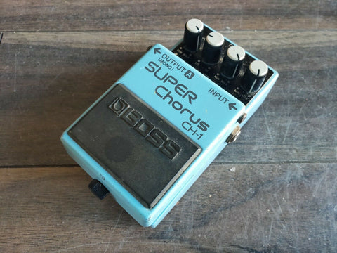1993 Boss CH-1 Analog Chorus Vintage Effects Pedal