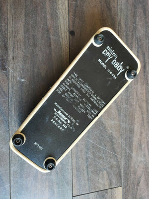 1970's Jen Mister Crybaby (Made in Italy) Vintage Wah Pedal