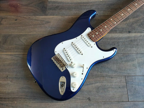 2004 Fender Japan ST62-70TX '62 Reissue Stratocaster (Jupiter Blue)