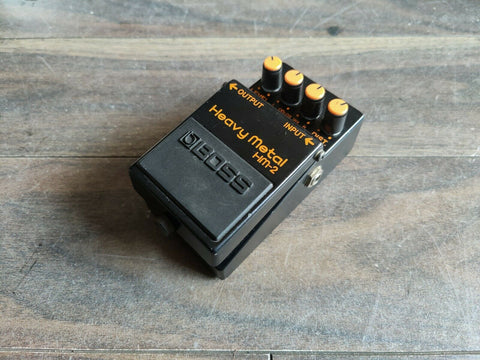 1980's Boss HM-2 Heavy Metal Distortion Vintage Effects Pedal