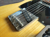 1996 Fernandes Japan TE-1 Telecaster (Natural Ash) w/Hard Case