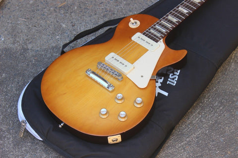2016 Gibson Les Paul '60's Tribute (Satin Honeyburst) w/P90's