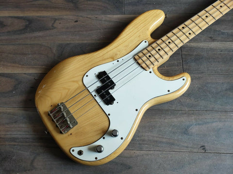 1977 Greco Japan Vintage Precision Bass (Natural)