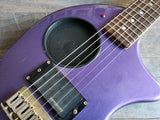 Fernandes Nomad Travel Guitar w/Built In Amplifier MIJ (Purple)