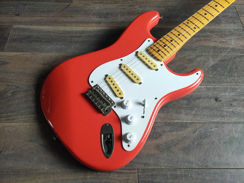 1983 Squier Japan SST-30 JV Series Vintage Stratocaster MIJ (Orange)