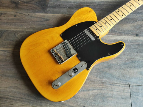 1988 Fender Japan TL72-55 '72 Reissue Telecaster (Natural)