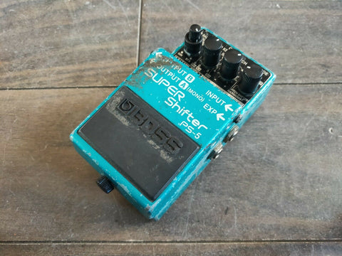 Boss PS-5 Digital Pitch Shifter Delay MIJ Japan Vintage Effects Pedal