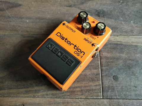 1986 Boss DS-1 Distortion MIJ Vintage Effects Pedal