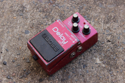 1984 Boss DM-3 Analog Delay Vintage MIJ Japan Effects Pedal