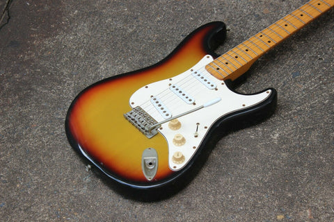 1979 Greco SE-500 Super Sounds Stratocaster Electric Guitar Japan MIJ (Sunburst)
