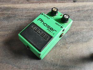 1979 Boss PH-1 Phaser MIJ Vintage Effects Pedal