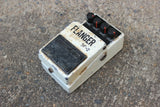 1981 Boss BF-2 Silver Screw Flanger MIJ Vintage Effects Pedal