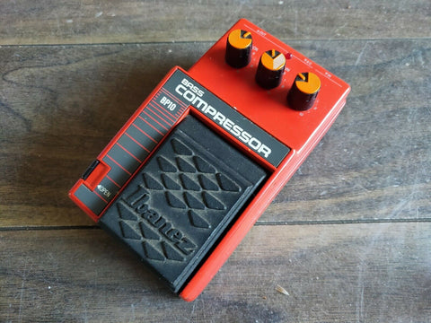 1980's Ibanez BP10 Bass Compressor MIJ Japan Vintage Effects Pedal