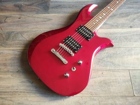 1999 BC Rich Japan Edition 580JE Eagle (Metallic Red)