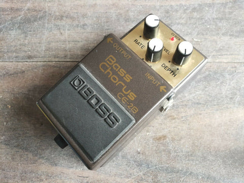 1990's Boss CE-2B Bass Chorus Vintage Effects Pedal