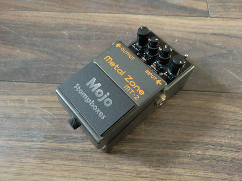 Mojo Mods Modified Boss MT-2 Metalzone Distortion Effects Pedal