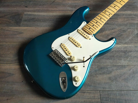 1991 Fender Japan ST-500 Stratocaster (Faded Lucerne Green)