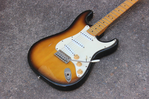 1978 Greco SE-500 Super Sounds Stratocaster Electric Guitar Japan MIJ (Sunburst)