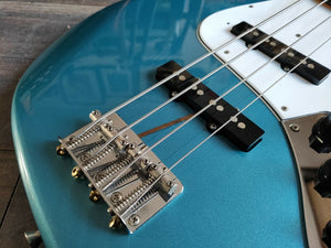 2002 Fender Japan JB62 '62 Reissue MIJ Jazz Bass (Old Lake Placid Blue)