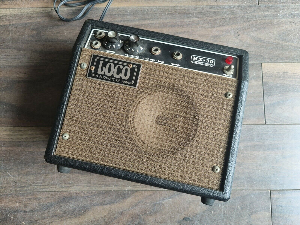 Vintage Aria Loco MX-30 Guitar Amplifier (Made in Japan)