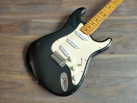 1976 Greco SE-500 Super Sounds Stratocaster Electric Guitar Japan MIJ (Black)