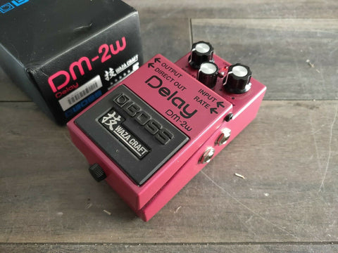 Boss DM-2W Waza Analog Delay Effects Pedal