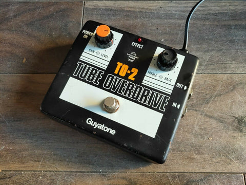 1980's Guyatone TO-2 Vintage Tube Overdrive (Made in Japan)