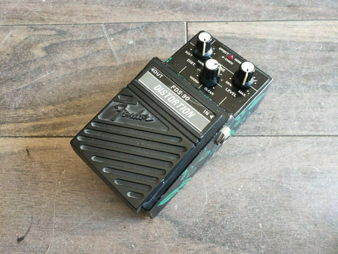 1980s Fender FDS-90 Sonic Distortion Japan Effects Pedal