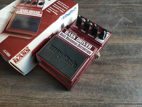 Digitech Bass Driver Overdrive/Distortion w/Box