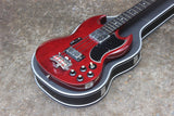 1974 Greco EB-420 SG Bass Cherry Red (Made in Japan) w/Hard Case