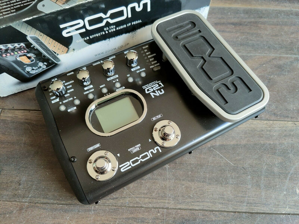 ZOOM G2.1u Guitar Multi Effects Pedal