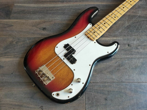 1980's Westminster (Matsumoku) Sunburst Precision Bass - Made in Japan