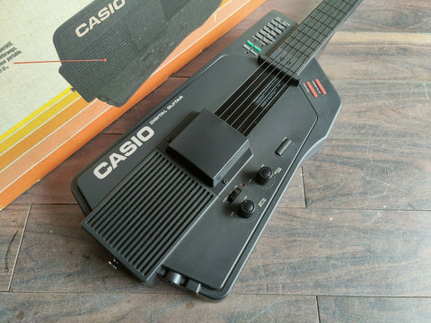 1980's Casio DG-1 Digital Guitar (Made in Japan) w/Original Box