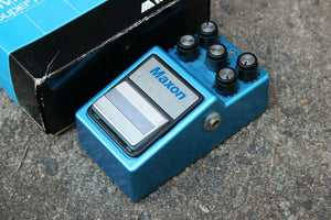1980's Maxon SM-9 Super Metal Distortion MIJ Japan Effects Pedal w/Box