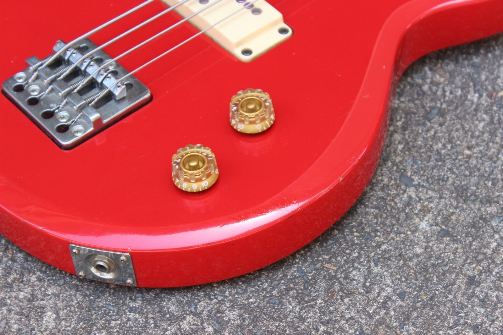 1982 Aria Pro II Japan CSB-380 Cardinal Bass (Made in Japan)