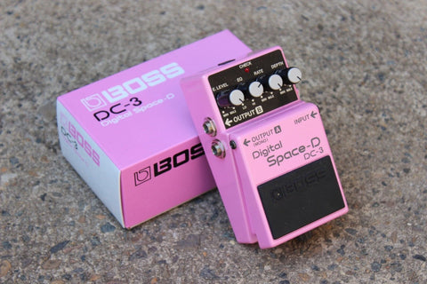 1989 Boss DC-3 Digital Space D Chorus MIJ Japan Vintage Effects Pedal w/Box