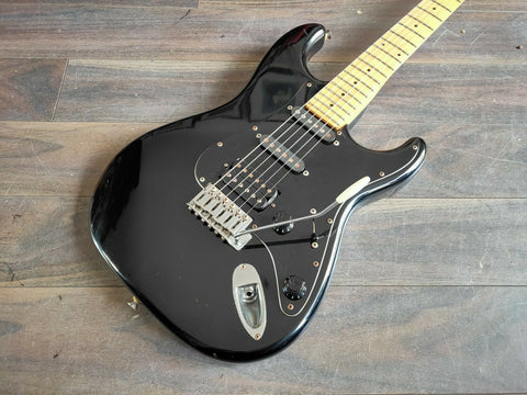 1986 Fender Japan STM55 Medium Scale Stratocaster (Black)