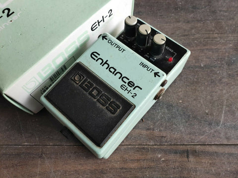 1990 Boss EH-2 Enhancer EQ Vintage Effects Pedal w/Box