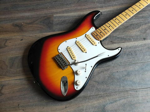1970's Founder Custom Edition Stratocaster Sunburst (Made in Japan)
