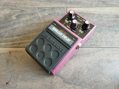 1980's Maxon AD-01 Analog Delay MIJ Japan Effects Pedal